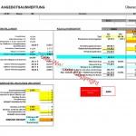 Angebotsauswertung (Überschlag)